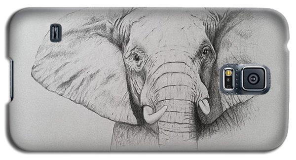 Elephant Galaxy S5 Case by Ele Grafton
