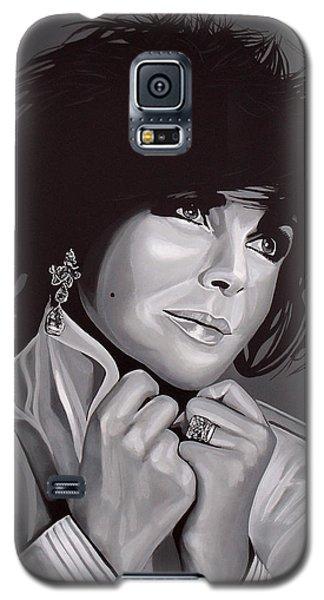 Elizabeth Taylor Galaxy S5 Case by Paul Meijering