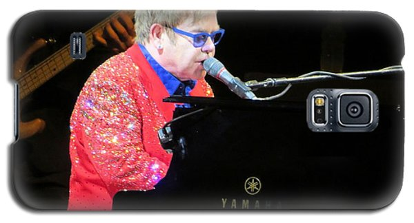 Elton John Live Galaxy S5 Case by Aaron Martens