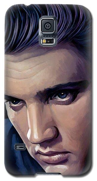Elvis Presley Artwork 2 Galaxy S5 Case by Sheraz A