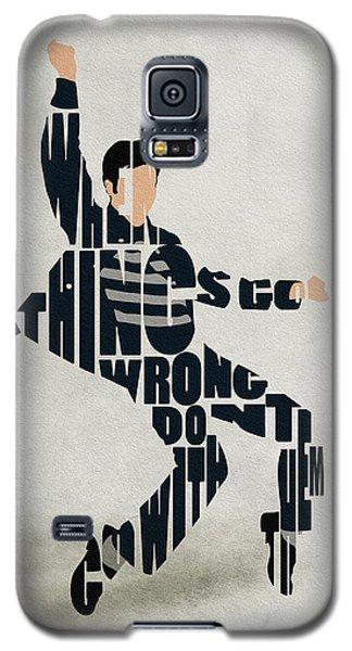 Elvis Presley Galaxy S5 Case by Ayse Deniz