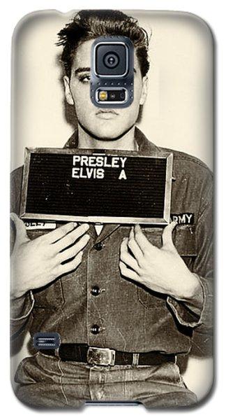 Elvis Presley - Mugshot Galaxy S5 Case by Digital Reproductions