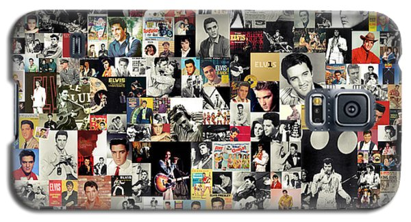 Music Galaxy S5 Cases - Elvis The King Galaxy S5 Case by Taylan Soyturk
