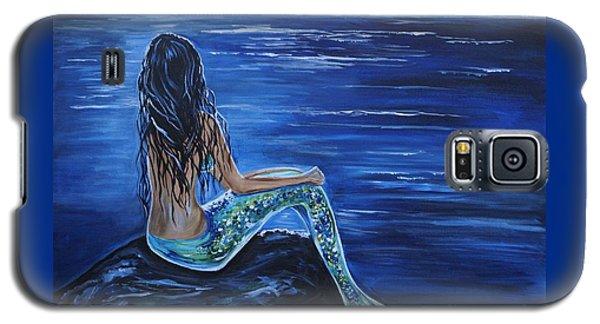 Enchanting Mermaid Galaxy S5 Case by Leslie Allen