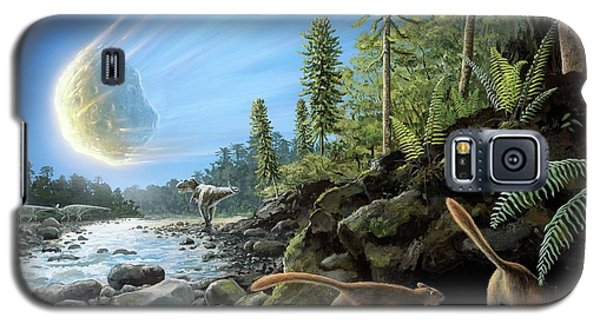 End Of Cretaceous Kt Event Galaxy S5 Case by Richard Bizley