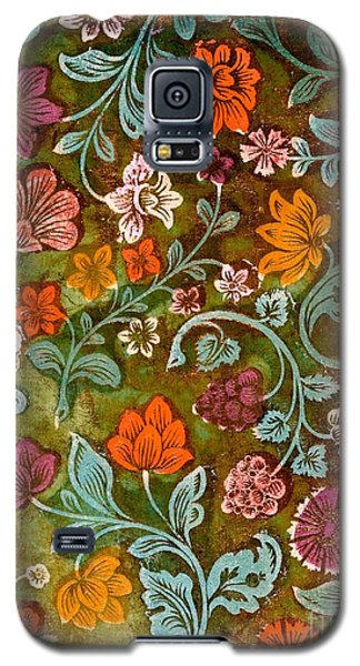 Tapestries - Textiles Galaxy S5 Cases - Endplate from a Turkish Book Galaxy S5 Case by Turkish School