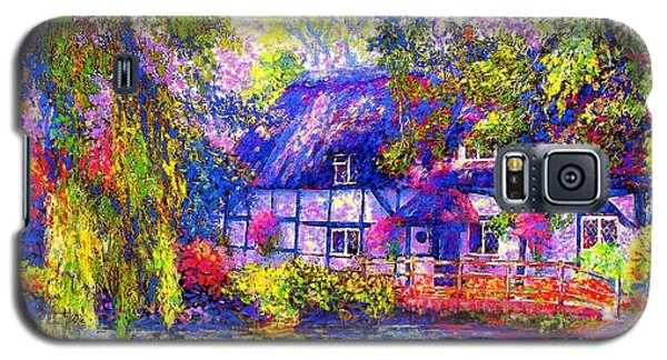 English Cottage Galaxy S5 Case by Jane Small