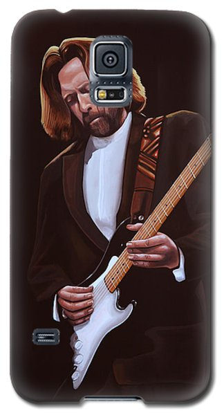 Eric Clapton Painting Galaxy S5 Case by Paul Meijering