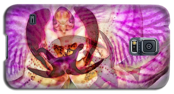Ethereal Orchid By Sharon Cummings Galaxy S5 Case by Sharon Cummings