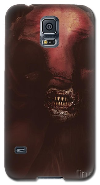 Evil Greek Mythology Minotaur Galaxy S5 Case by Jorgo Photography - Wall Art Gallery