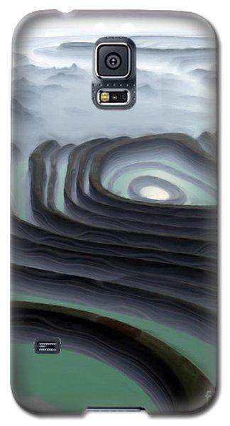Eye Of The Minotaur Galaxy S5 Case by Pet Serrano