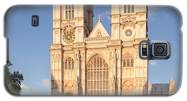Facade Of A Cathedral, Westminster Galaxy S5 Case by Panoramic Images