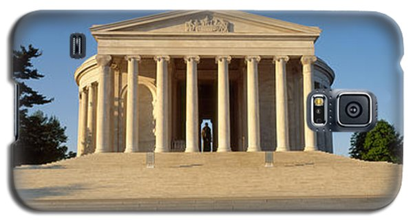 Facade Of A Memorial, Jefferson Galaxy S5 Case by Panoramic Images