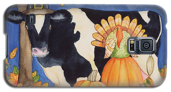 Fall Cow Galaxy S5 Case by Kathleen Parr Mckenna
