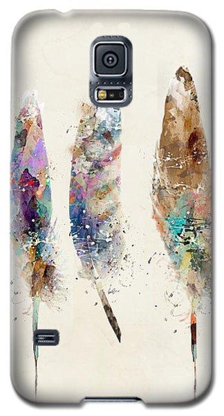 Feathers Galaxy S5 Case by Bri B