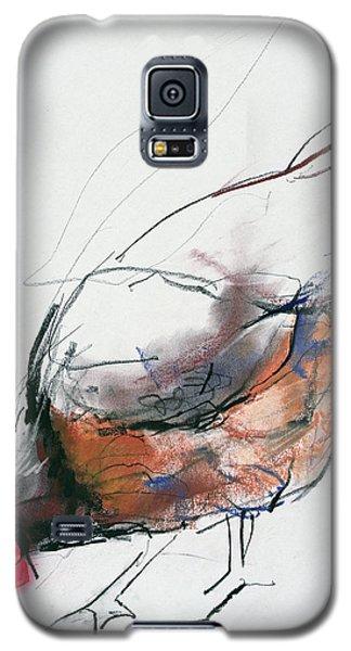 Feeding Hen, Trasierra Galaxy S5 Case by Mark Adlington