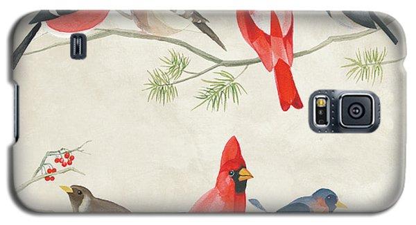 Festive Birds I Galaxy S5 Case by Danhui Nai