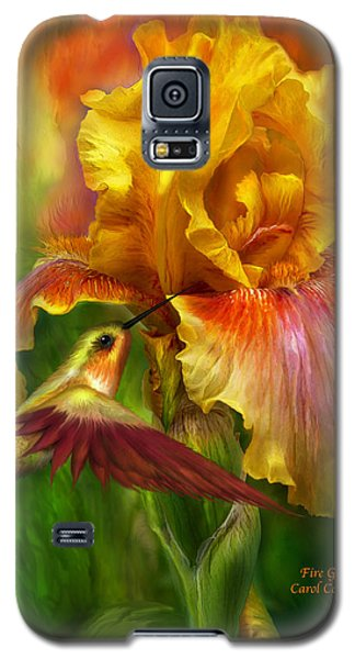 Fire Goddess Galaxy S5 Case by Carol Cavalaris