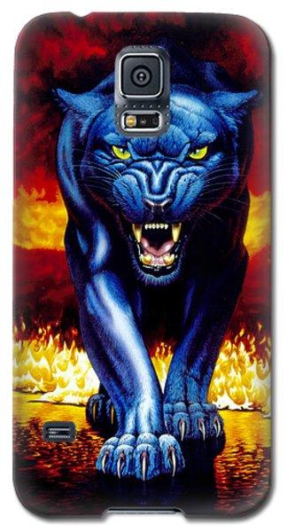 Fire Panther Galaxy S5 Case by MGL Studio - Chris Hiett