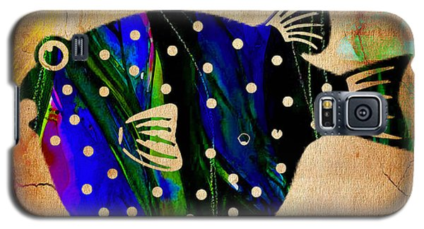 Fish Plaque Galaxy S5 Case by Marvin Blaine