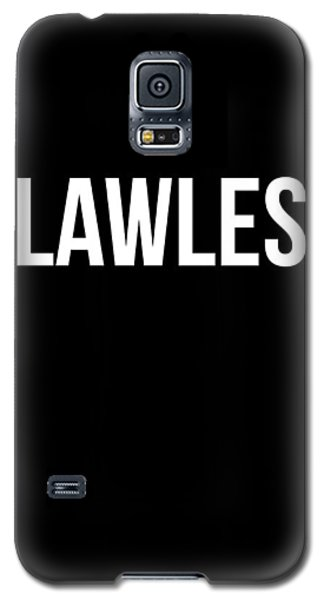 Flawless Poster Galaxy S5 Case by Naxart Studio