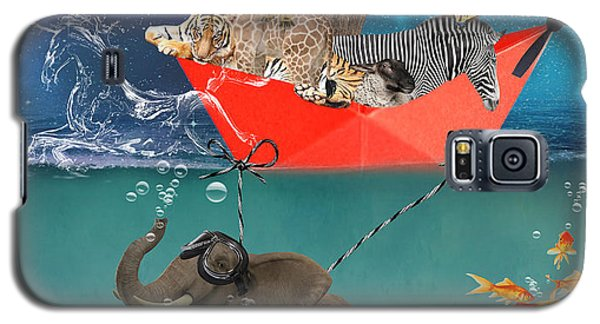 Floating Zoo Galaxy S5 Case by Juli Scalzi