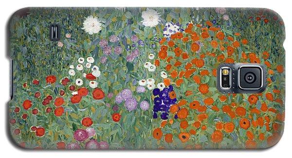 Flower Garden Galaxy S5 Case by Gustav Klimt