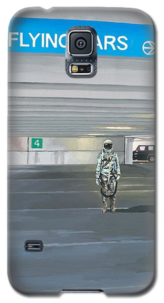 Flying Cars To The Right Galaxy S5 Case by Scott Listfield
