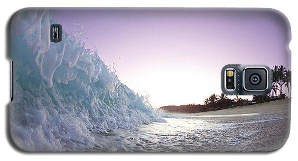 Seascape Galaxy S5 Cases - Foam Wall Galaxy S5 Case by Sean Davey