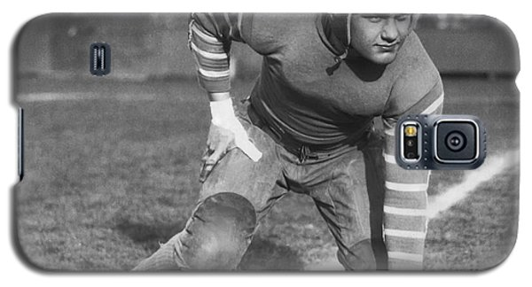 Football Fullback Player Galaxy S5 Case by Underwood Archives