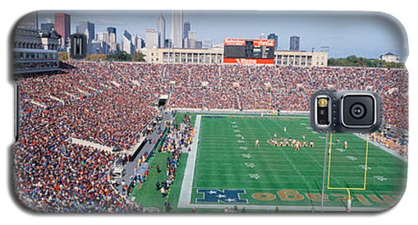 Football, Soldier Field, Chicago Galaxy S5 Case by Panoramic Images