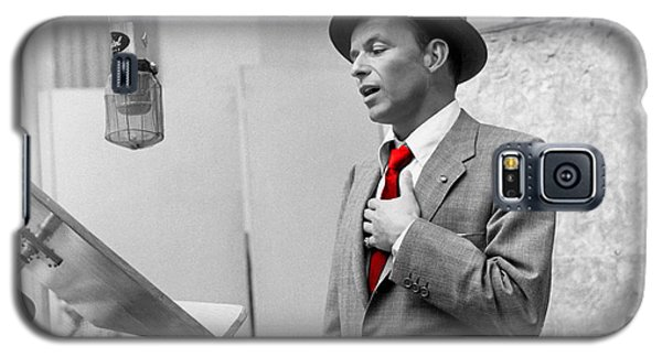 Frank Sinatra Painting Galaxy S5 Case by Marvin Blaine