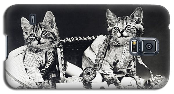 Frees Kittens, C1915 Galaxy S5 Case by Granger