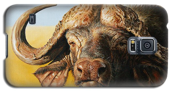 African Buffalo Galaxy S5 Case by Mario Pichler