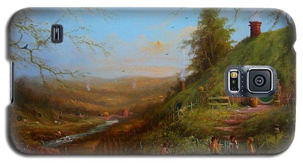 Frodo's Inheritance Bag End Galaxy S5 Case by Joe  Gilronan