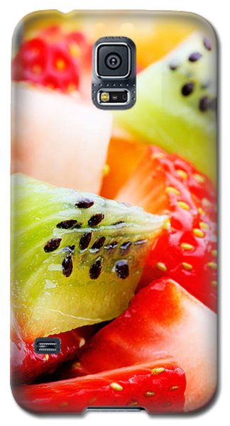 Fruit Salad Macro Galaxy S5 Case by Johan Swanepoel
