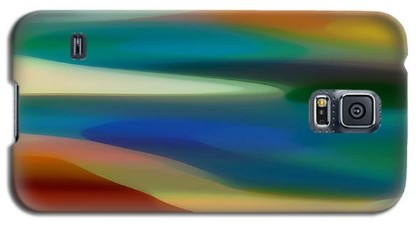 Abstract Galaxy S5 Cases - Fury Seascape 5 Galaxy S5 Case by Amy Vangsgard