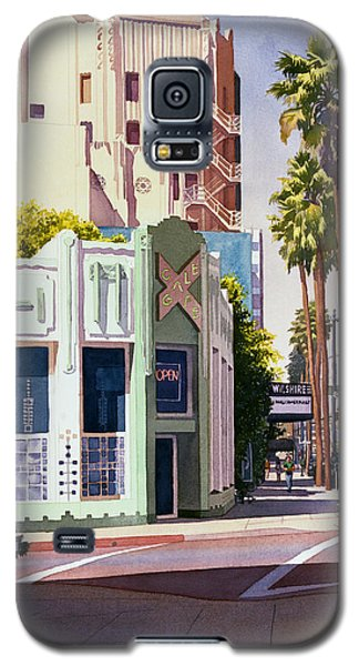 Gale Cafe On Wilshire Blvd Los Angeles Galaxy S5 Case by Mary Helmreich