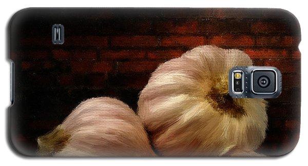 Garlic Galaxy S5 Case by Lourry Legarde