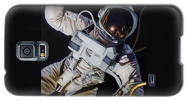Moon Galaxy S5 Cases - Gemini IV- Ed White Galaxy S5 Case by Simon Kregar