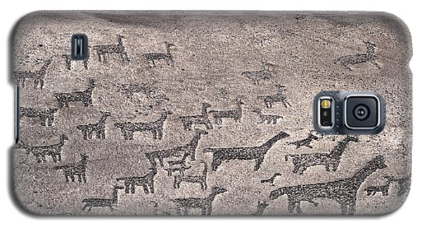 Geoglyphs At Tiliviche Chile Galaxy S5 Case by James Brunker