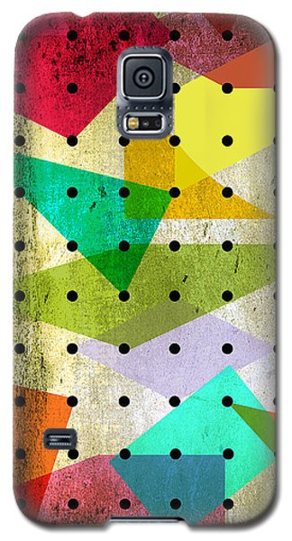 Geometric In Colors  Galaxy S5 Case by Mark Ashkenazi