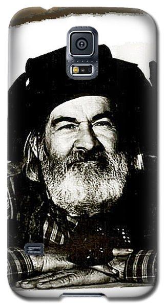George Hayes Portrait #1 Card Galaxy S5 Case by David Lee Guss