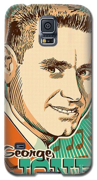 George Jones Pop Art Galaxy S5 Case by Jim Zahniser