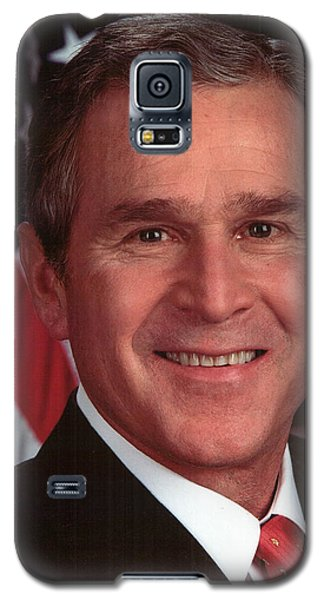 George W Bush Galaxy S5 Case by Official Gov Files
