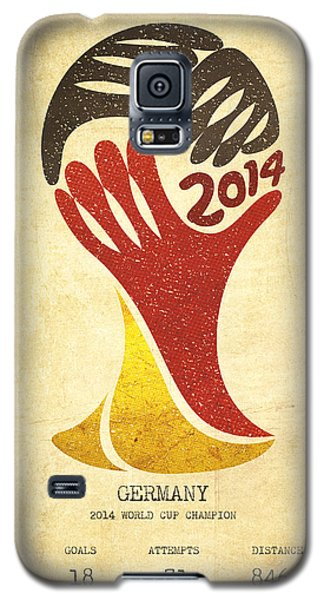 Germany World Cup Champion Galaxy S5 Case by Aged Pixel