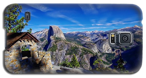Glacier Point Yosemite National Park Galaxy S5 Case by Scott McGuire