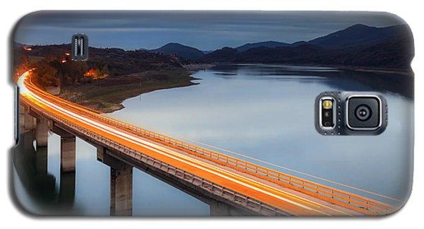 Galaxy S5 Cases - Glowing Bridge Galaxy S5 Case by Evgeni Dinev
