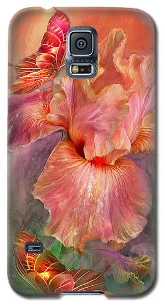 Goddess Of Spring Galaxy S5 Case by Carol Cavalaris