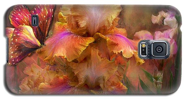 Goddess Of Sunrise Galaxy S5 Case by Carol Cavalaris
